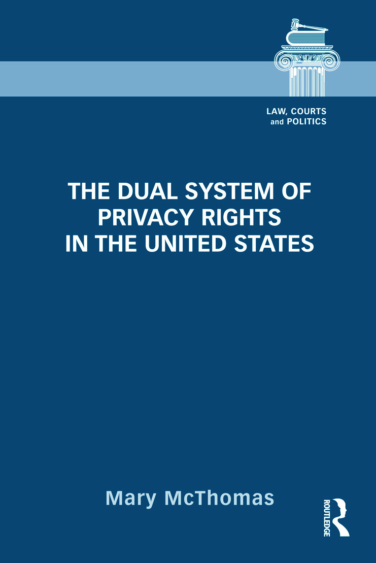 The Dual System of Privacy Rights in the United States (Hardback) book cover