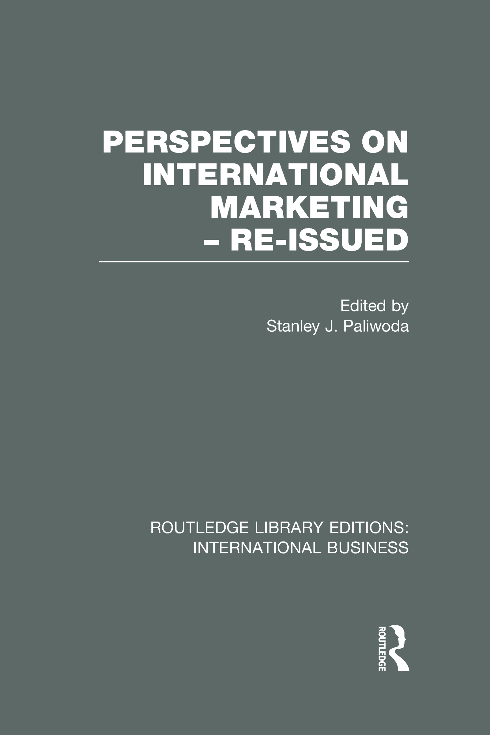 Perspectives on International Marketing - Re-issued (RLE International Business) (Hardback) book cover