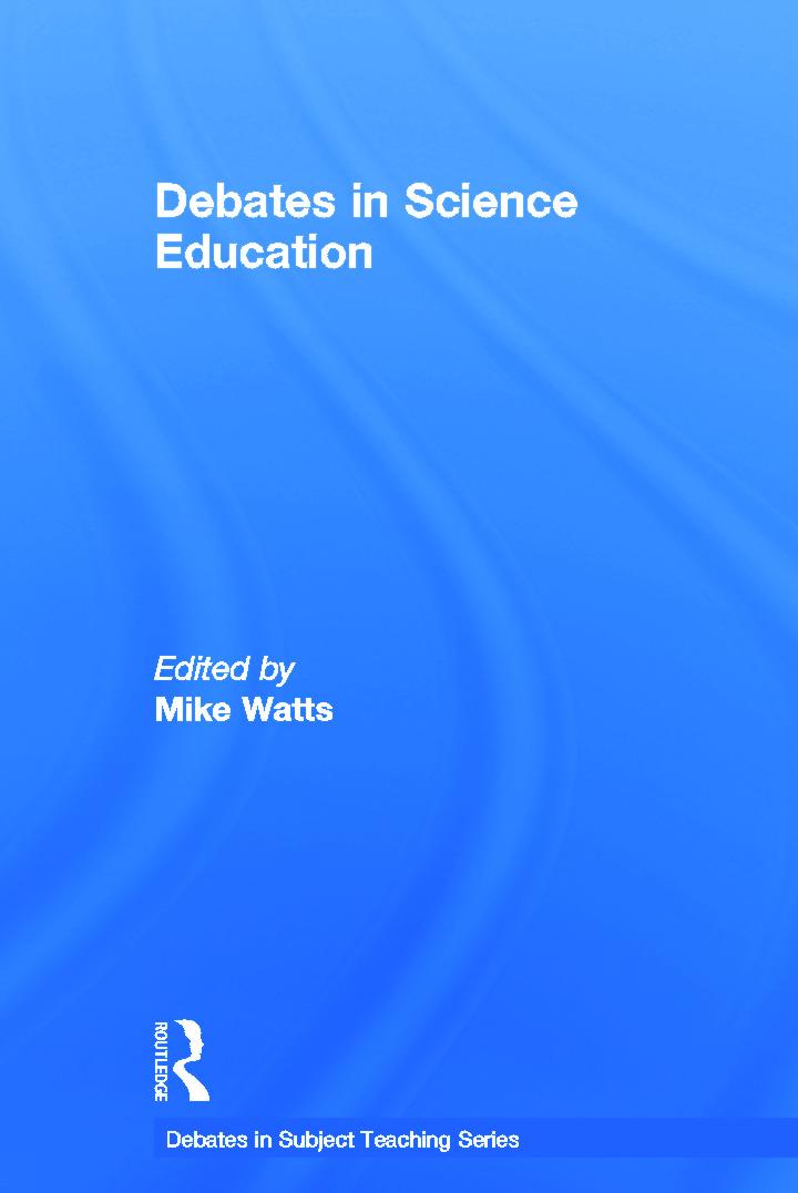 Debates in Science Education book cover