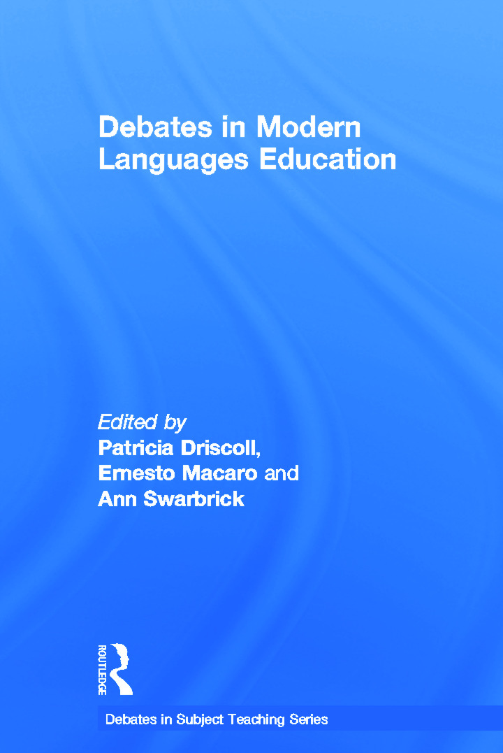 Debates in Modern Languages Education: 1st Edition (Hardback) book cover