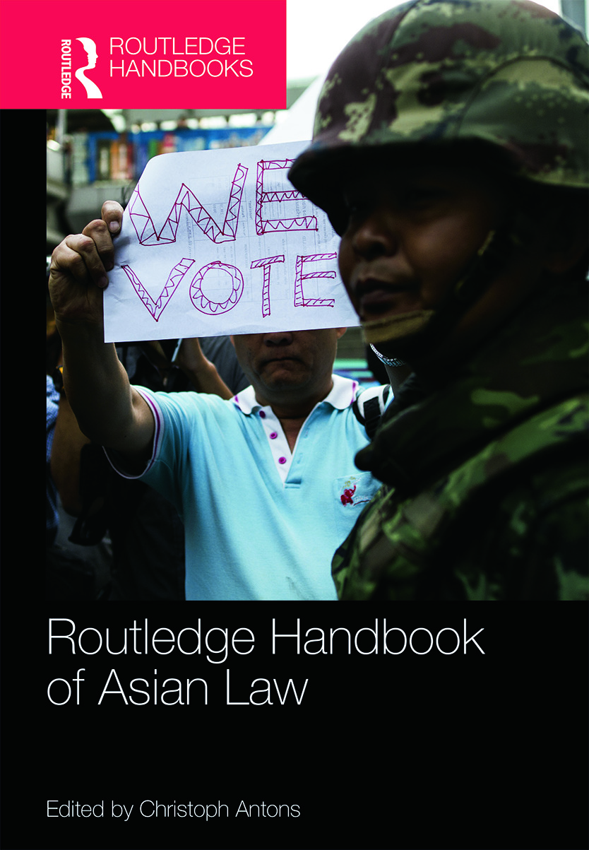 Routledge Handbook of Asian Law (Hardback) book cover