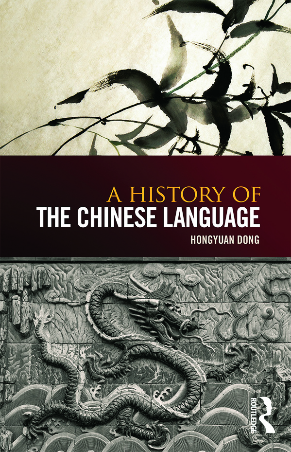 A History of the Chinese Language book cover