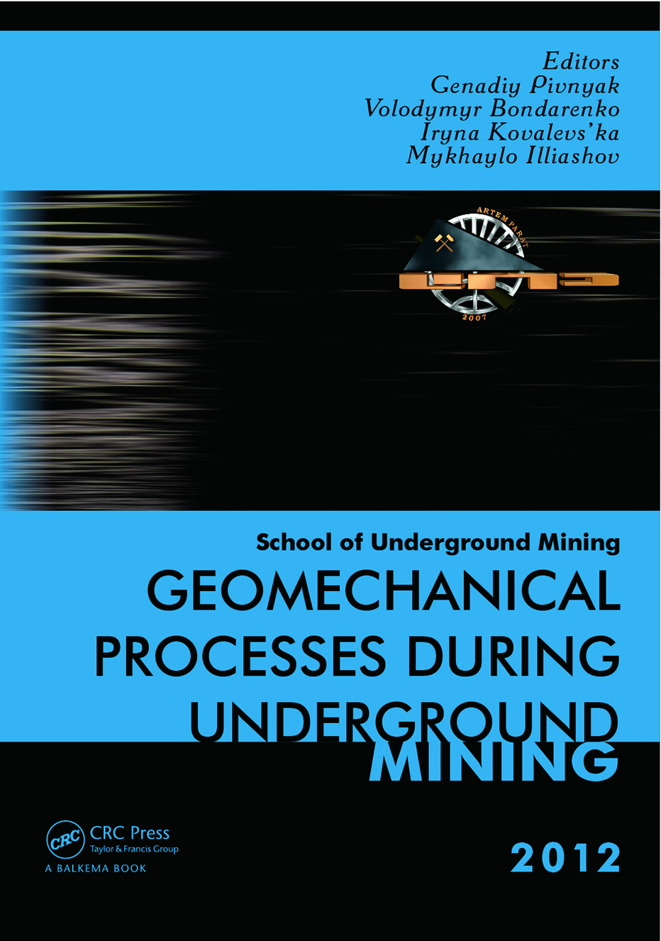Geomechanical Processes during Underground Mining: School of Underground Mining 2012 (Hardback) book cover