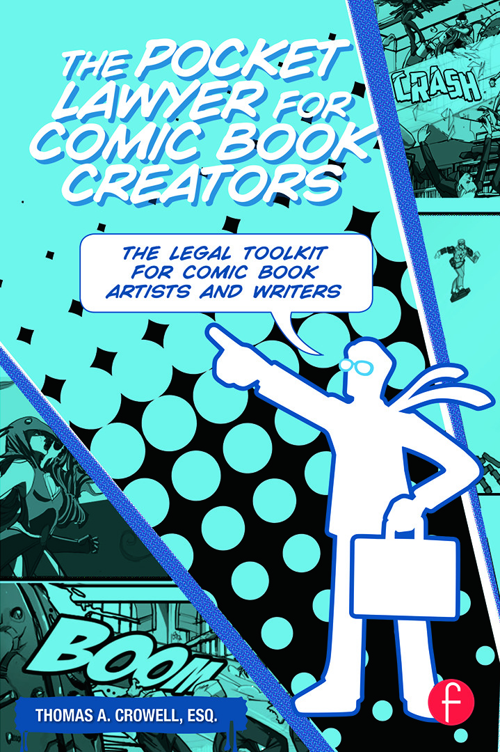 The Pocket Lawyer for Comic Book Creators: A Legal Toolkit for Comic Book Artists and Writers (Paperback) book cover