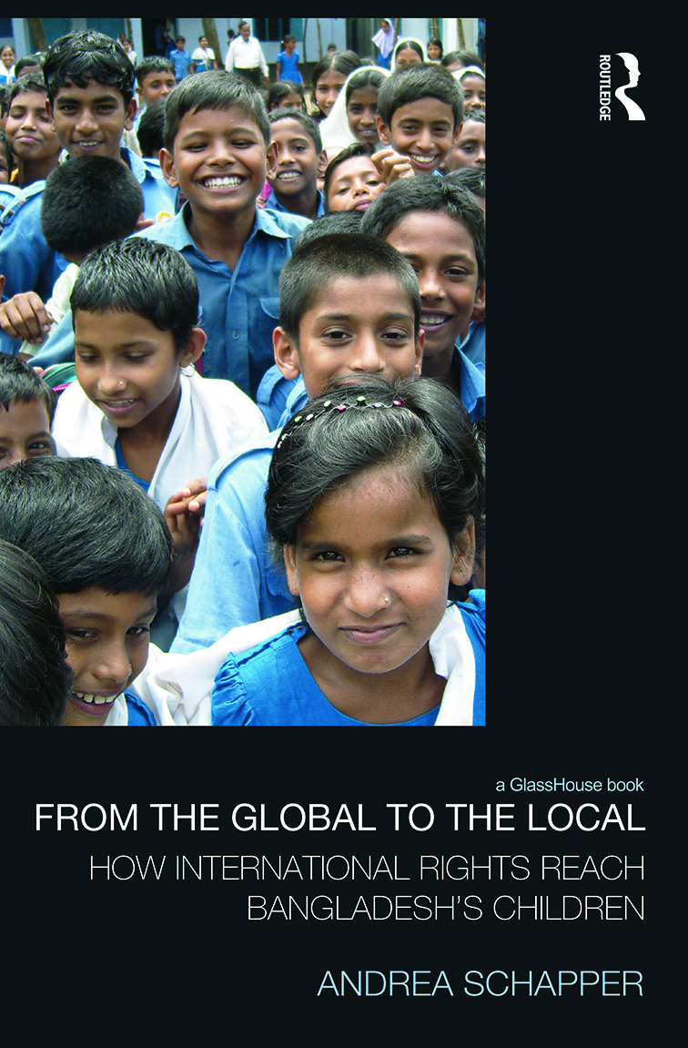 From the Global to the Local: How International Rights Reach Bangladesh's Children (Hardback) book cover