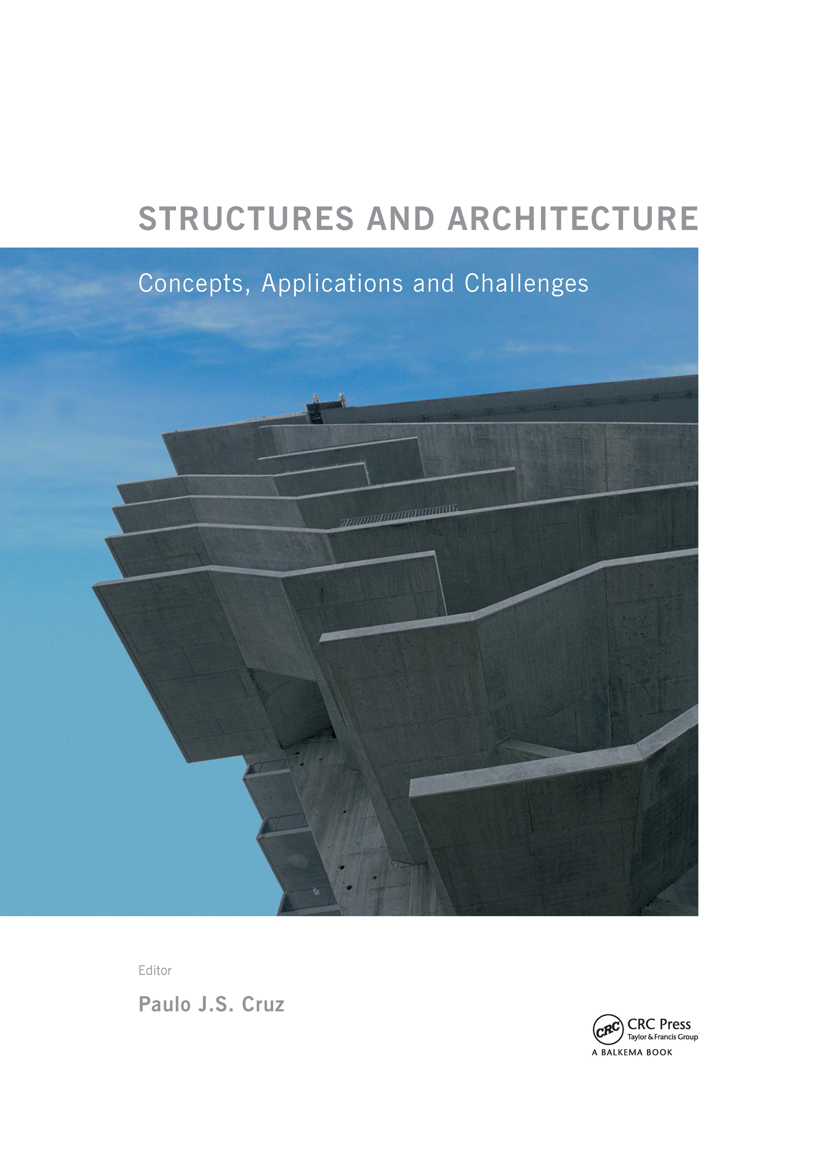 Structures and Architecture: New concepts, applications and challenges, 1st Edition (Pack - Book and CD) book cover