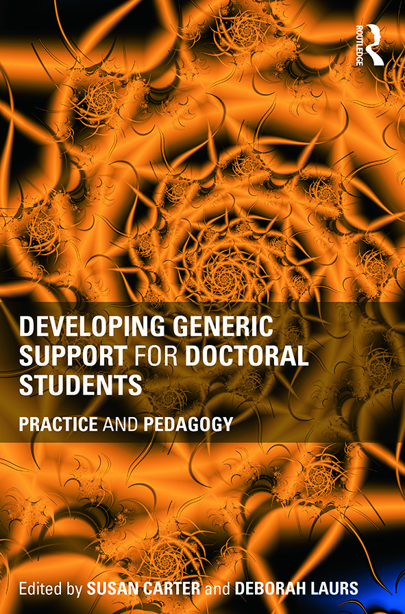 Developing Generic Support for Doctoral Students: Practice and pedagogy, 1st Edition (Paperback) book cover