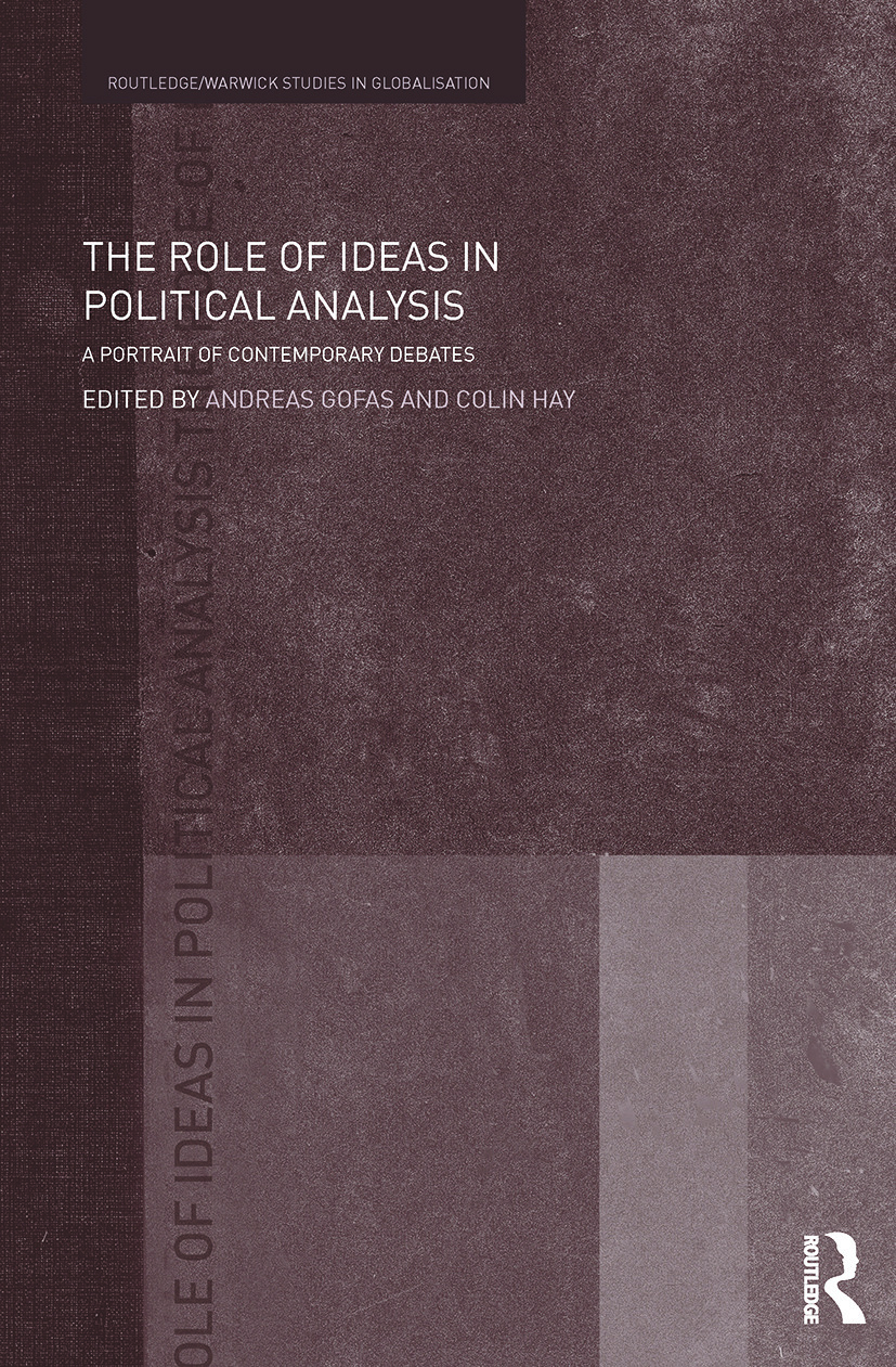 The Role of Ideas in Political Analysis: A Portrait of Contemporary Debates (Paperback) book cover