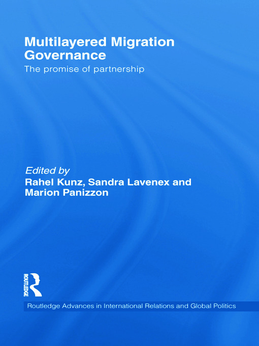 Multilayered Migration Governance: The Promise of Partnership (Paperback) book cover