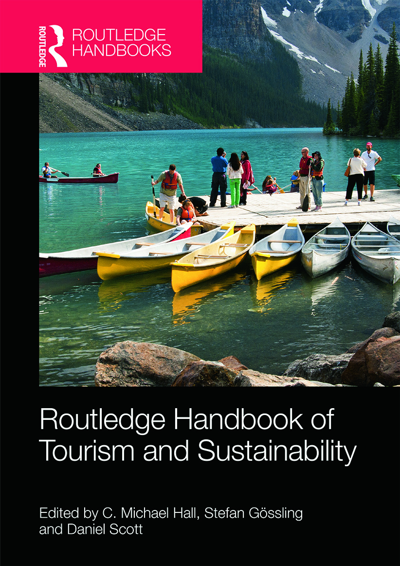 The Routledge Handbook of Tourism and Sustainability: 1st Edition (Hardback) book cover