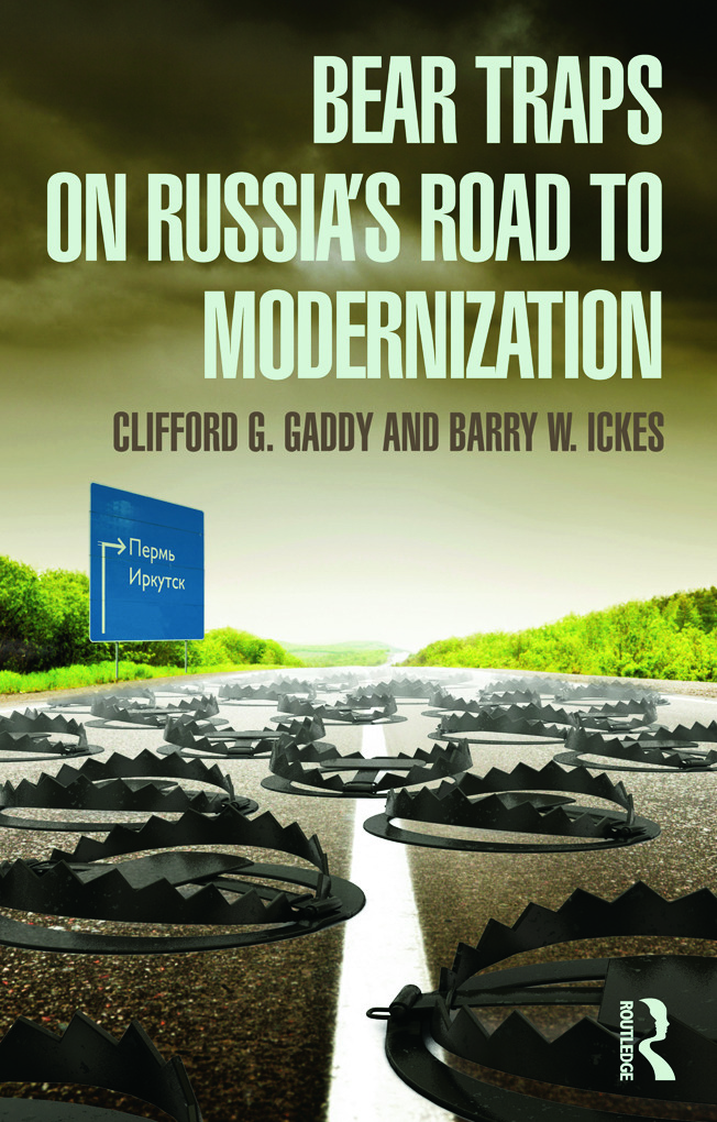 Bear Traps on Russia's Road to Modernization (Paperback) book cover