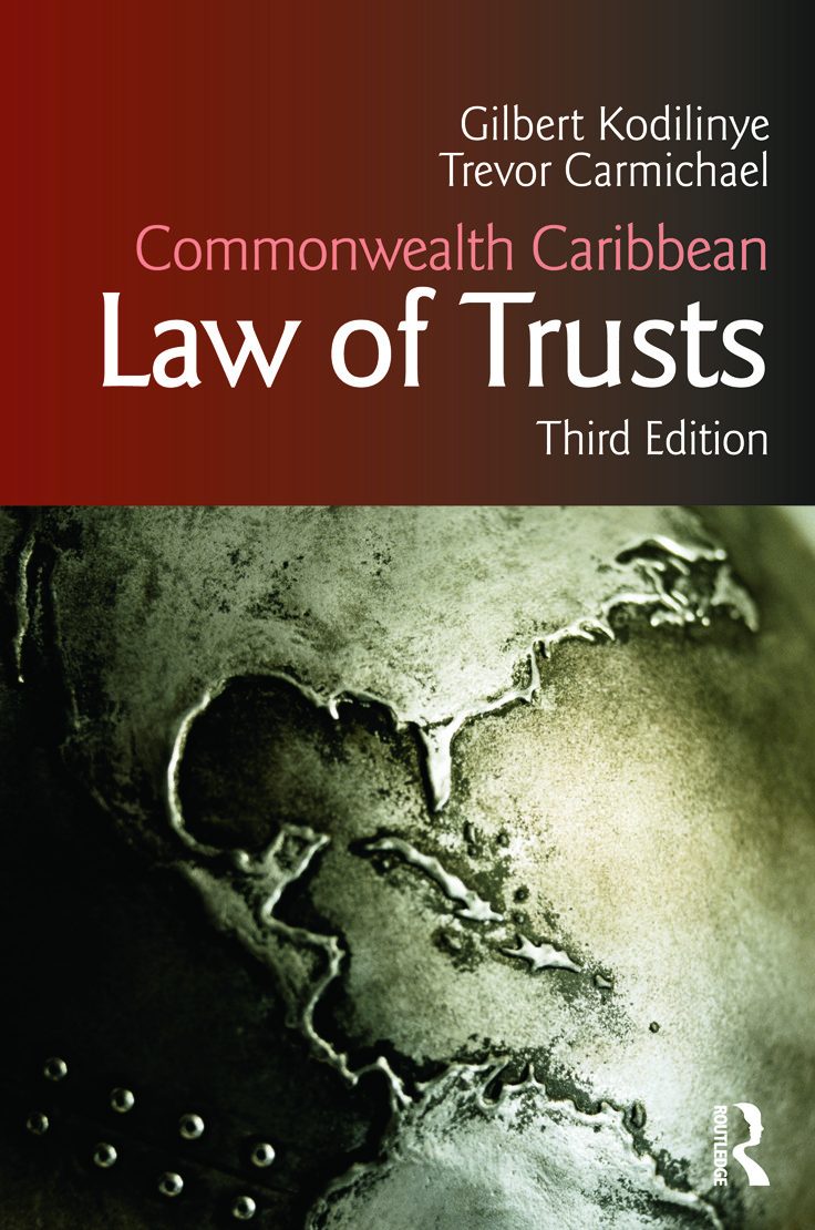 Commonwealth Caribbean Law of Trusts: Third Edition, 3rd Edition (Paperback) book cover