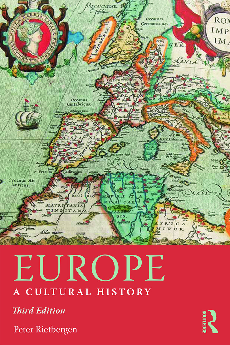 Europe: A Cultural History, 3rd Edition (Paperback) book cover