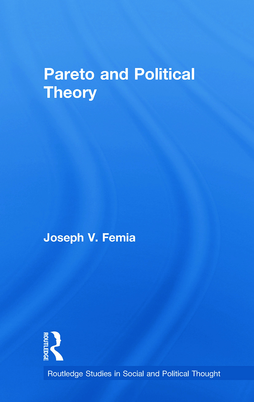Pareto and Political Theory (Paperback) book cover