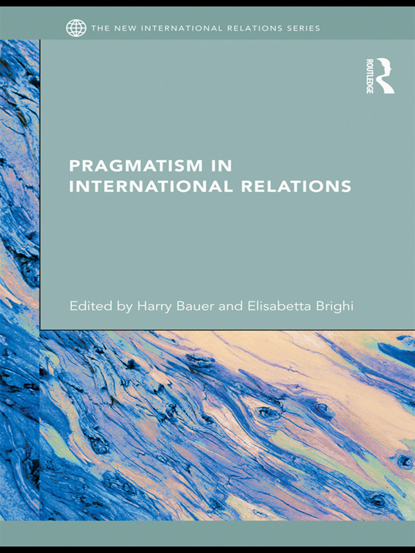 Pragmatism in International Relations: 1st Edition (Paperback) book cover