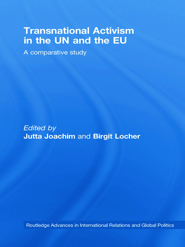 NGOs, the European Union and the case of the environment