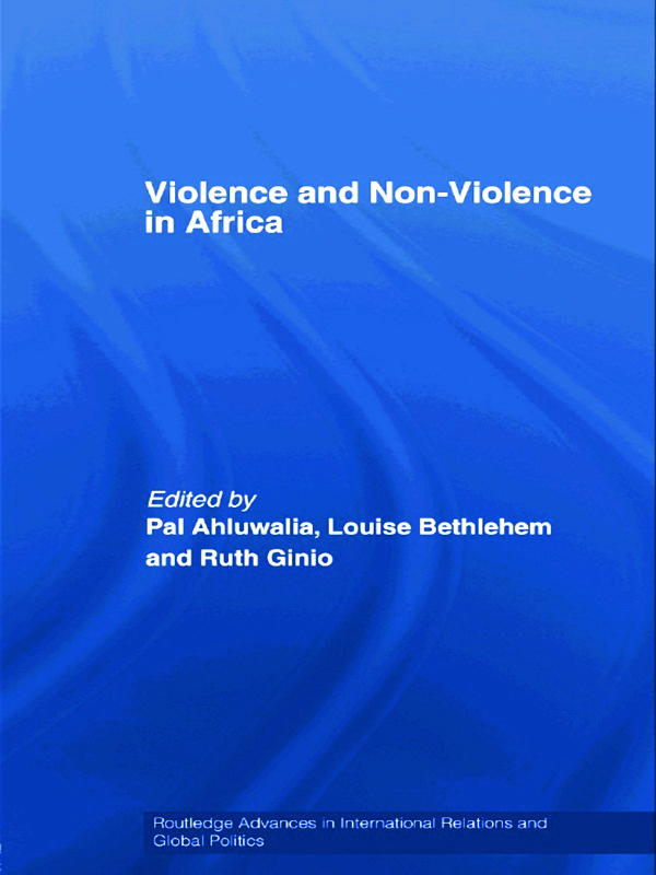 Violence and Non-Violence in Africa (Paperback) book cover