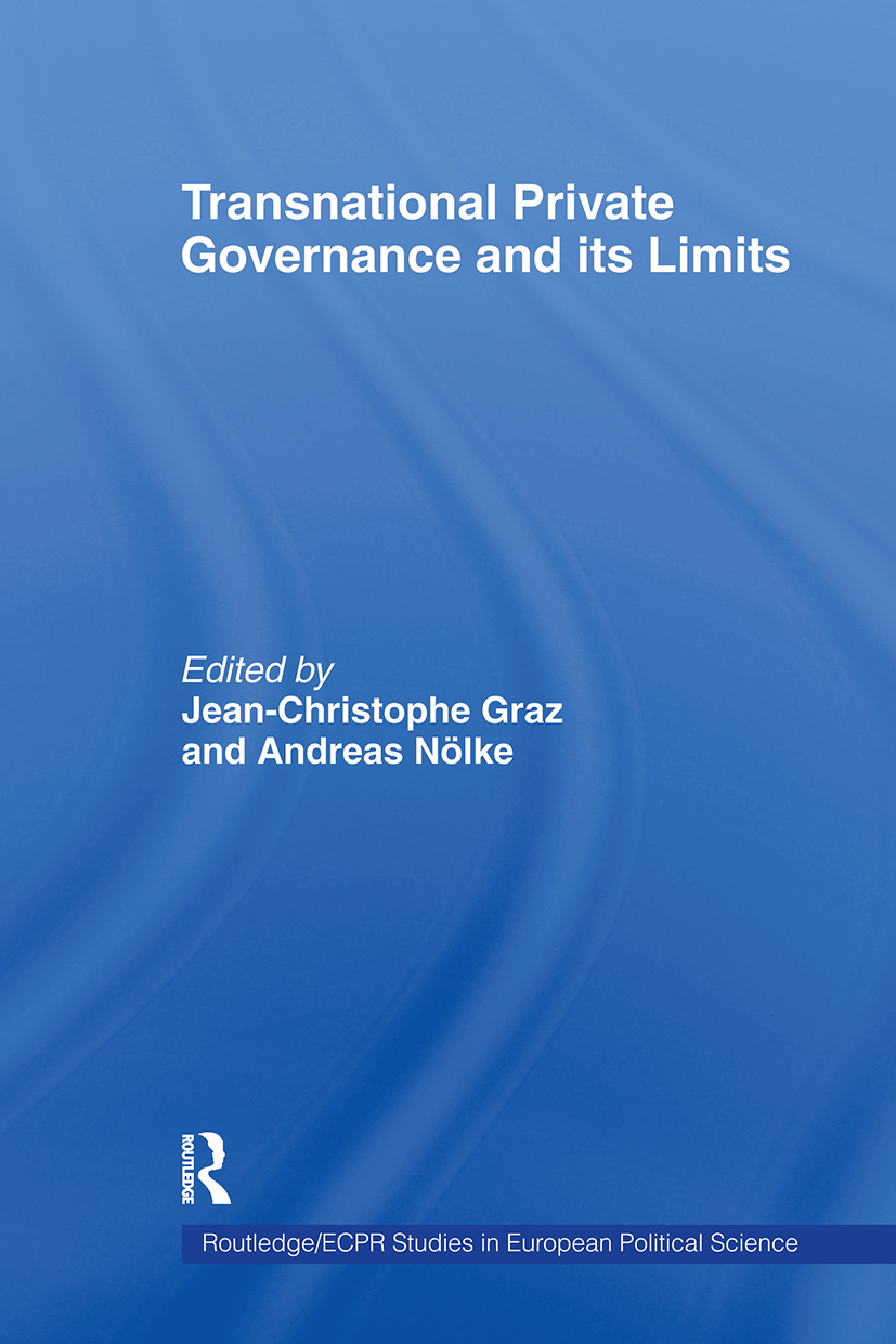 Transnational Private Governance and its Limits (Paperback) book cover