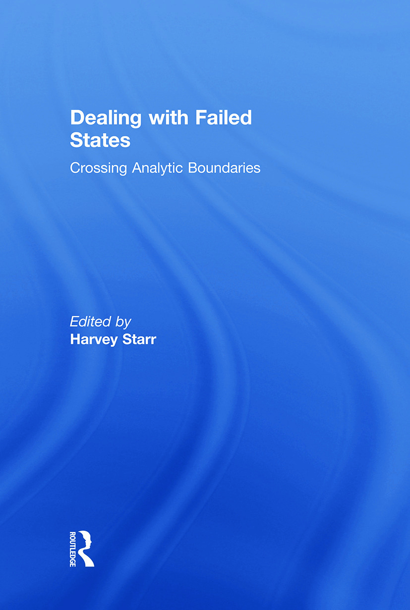 Dealing with Failed States: Crossing Analytic Boundaries (Paperback) book cover