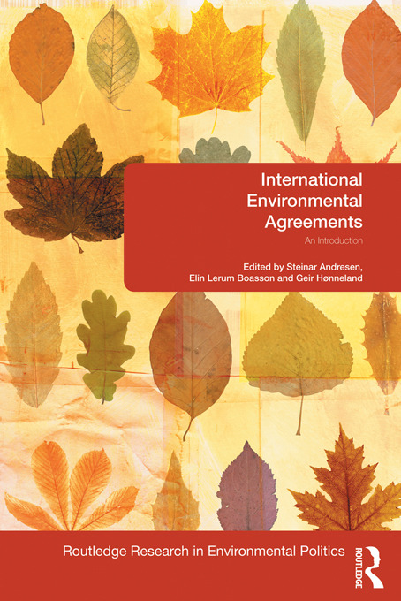 International Environmental Agreements: An Introduction, 1st Edition (Paperback) book cover