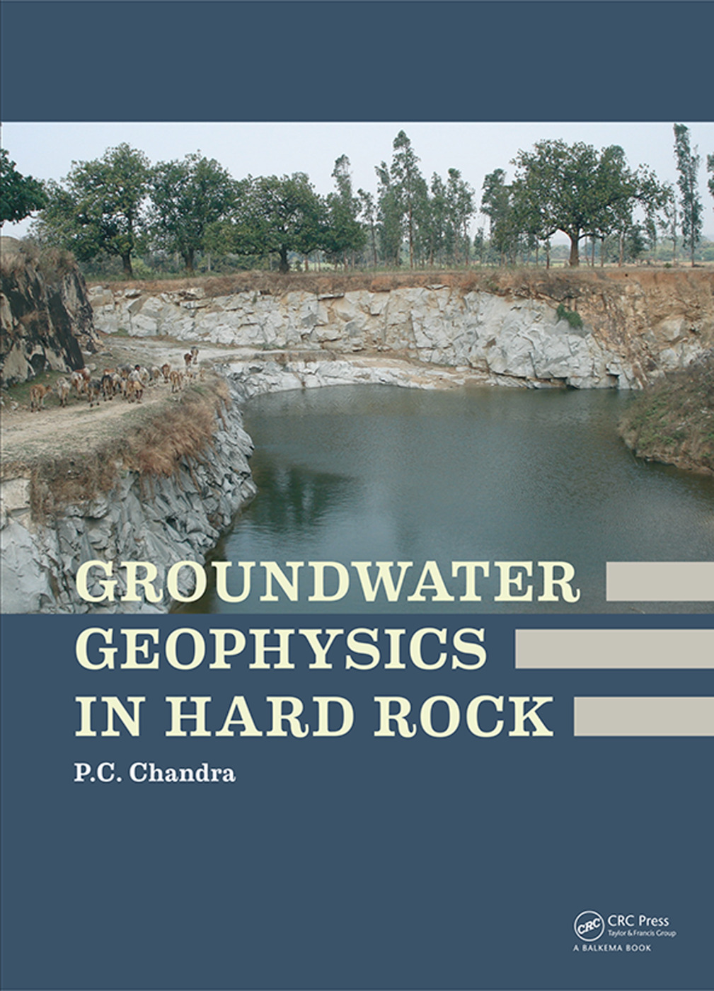 Groundwater Geophysics in Hard Rock: 1st Edition (Hardback) book cover