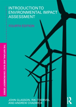 Introduction To Environmental Impact Assessment: 4th Edition (Paperback) book cover