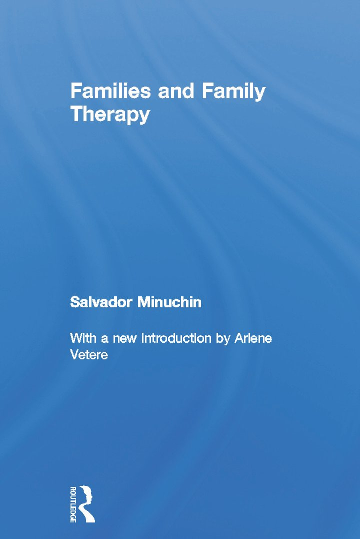 Families and Family Therapy book cover