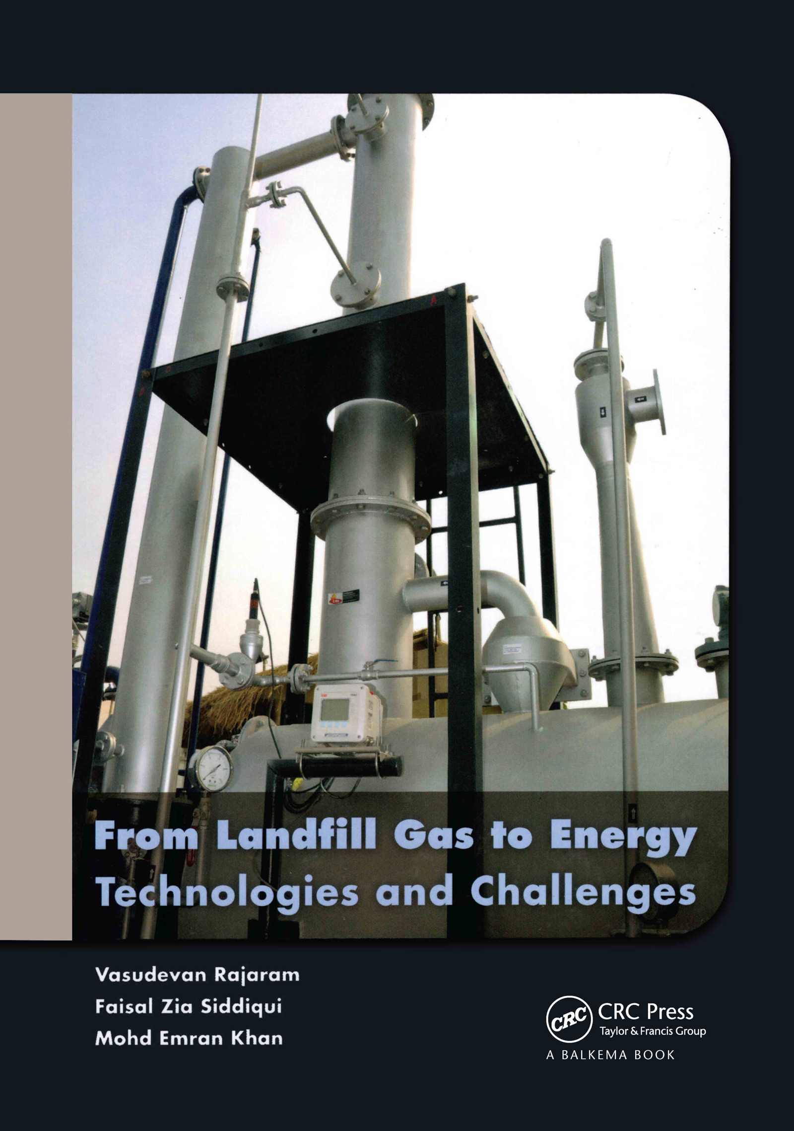 From Landfill Gas to Energy: Technologies and Challenges (Hardback) book cover