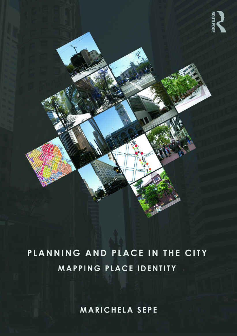 Planning and Place in the City: Mapping Place Identity (Paperback) book cover