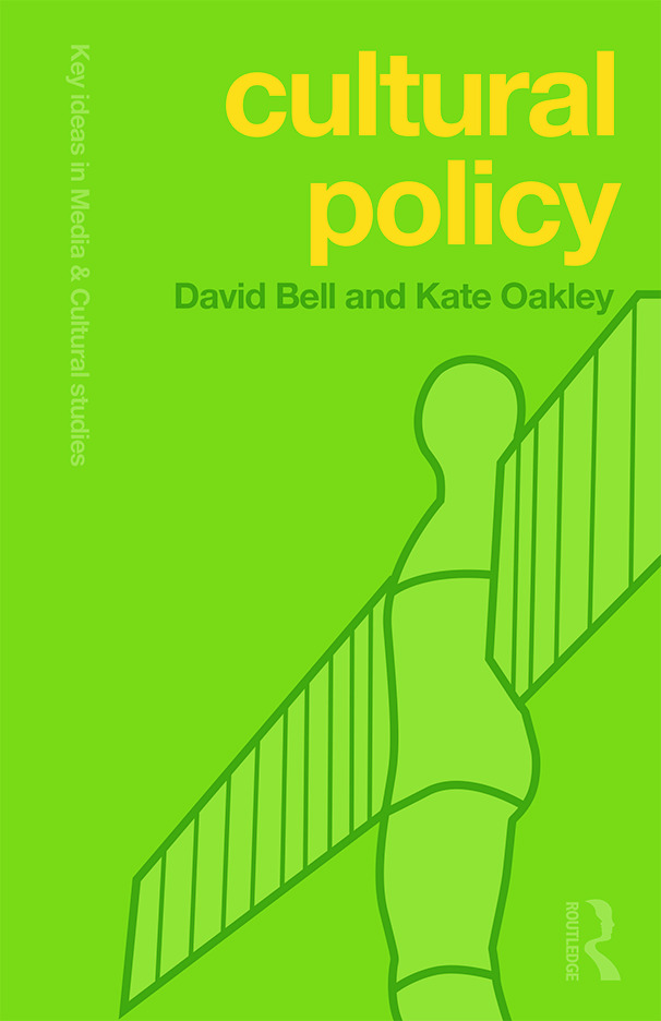 Cultural Policy book cover