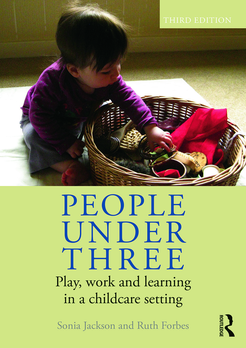 People Under Three: Play, work and learning in a childcare setting, 3rd Edition (Paperback) book cover