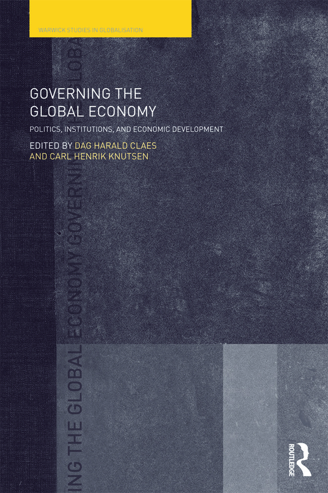 Governing the Global Economy: Politics, Institutions and Economic Development, 1st Edition (Paperback) book cover