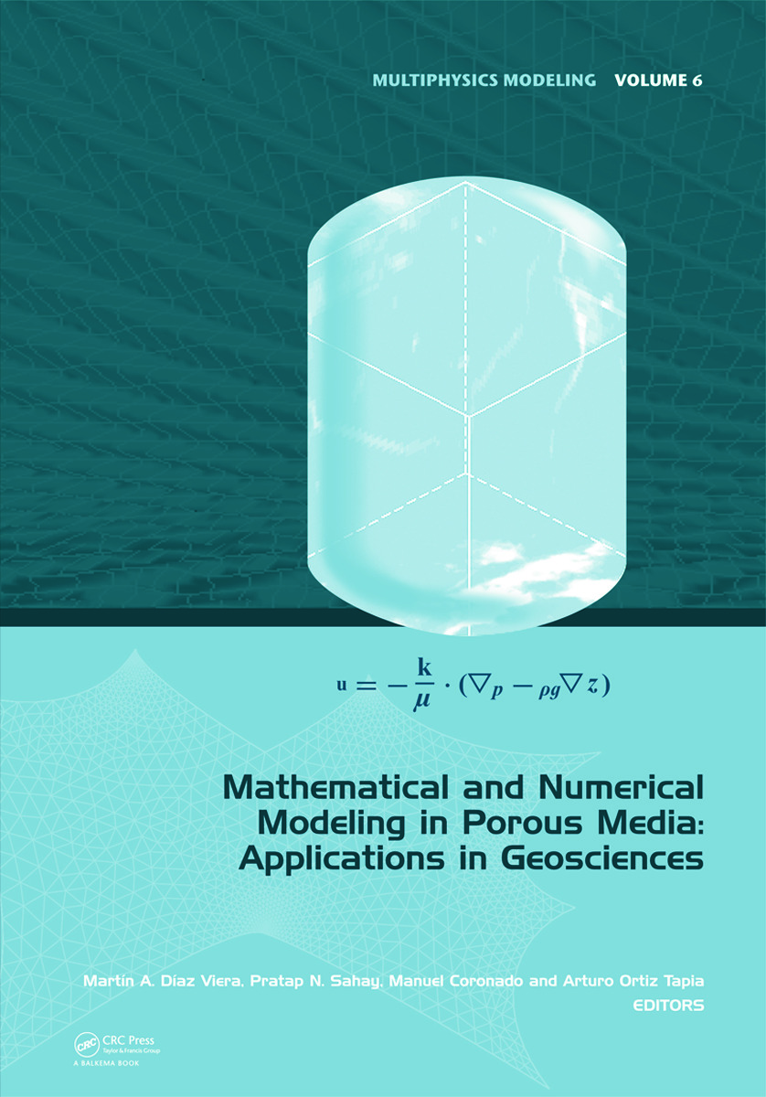 Mathematical and Numerical Modeling in Porous Media: Applications in Geosciences (Hardback) book cover