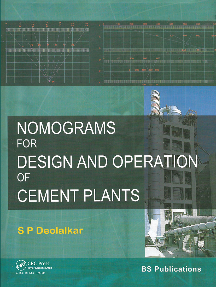 Nomograms for Design and Operation of Cement Plants: 1st Edition (Hardback) book cover