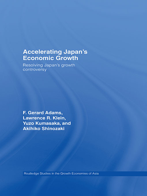 Accelerating Japan's Economic Growth
