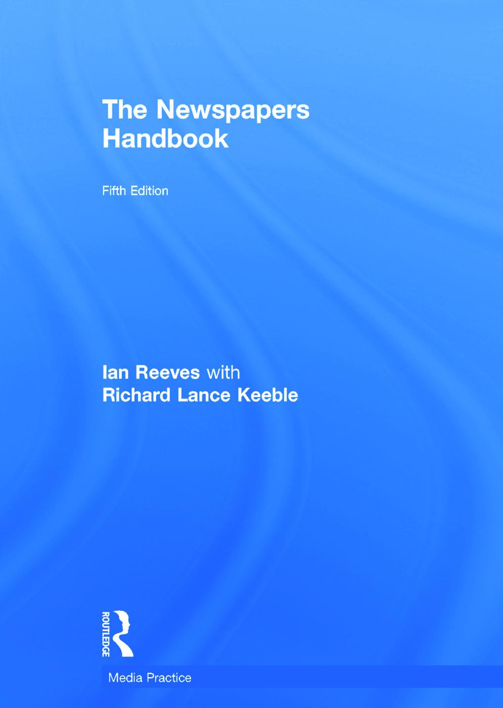 The Newspapers Handbook: 5th Edition (Hardback) book cover
