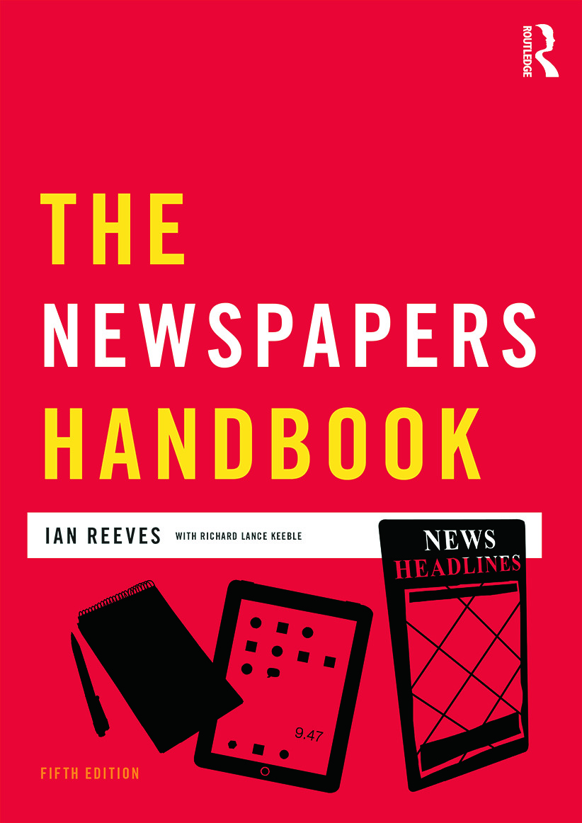 The Newspapers Handbook: 5th Edition (Paperback) book cover