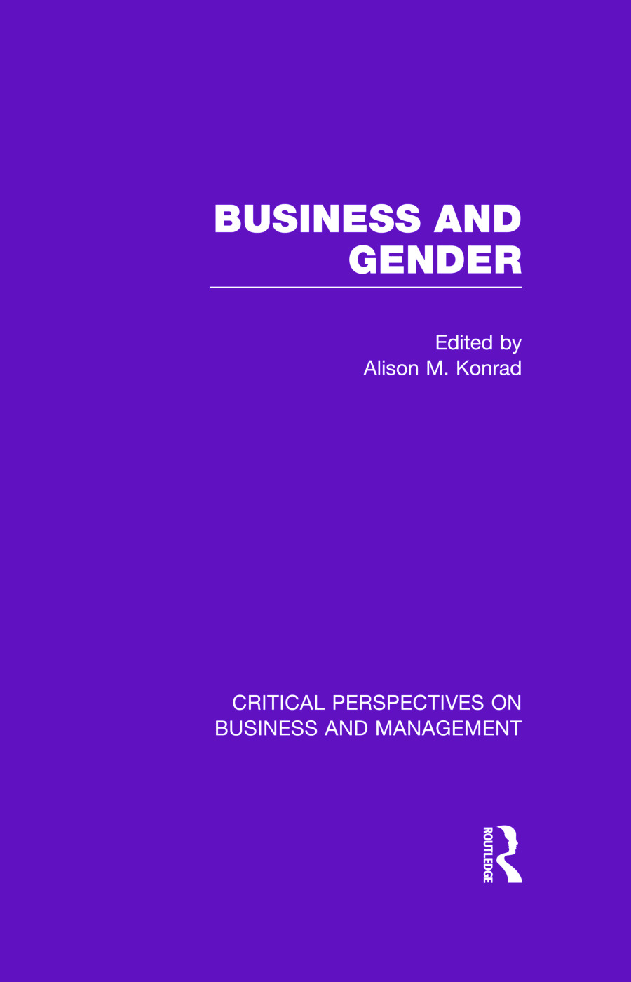 Business and Gender book cover