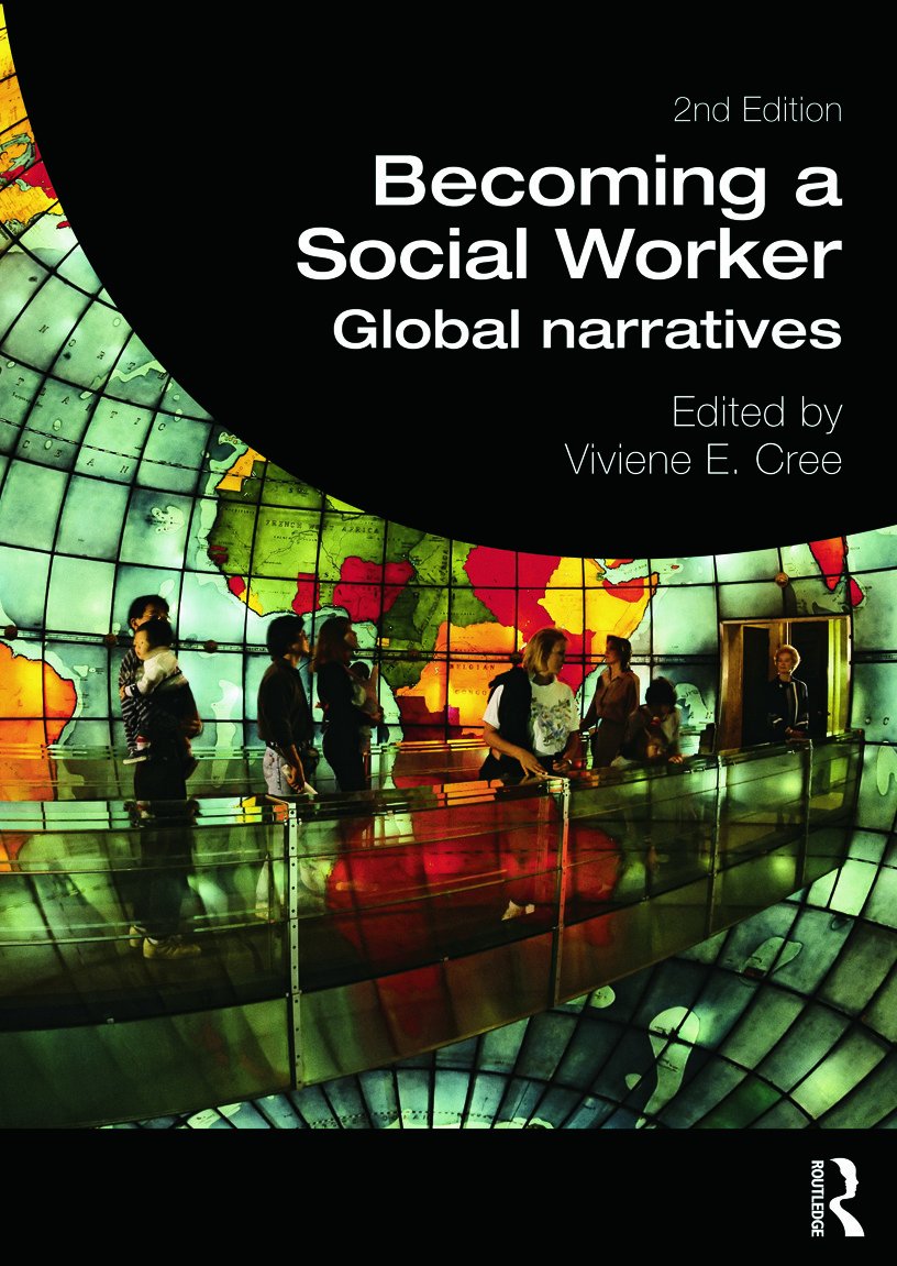 Becoming a Social Worker: Global Narratives book cover