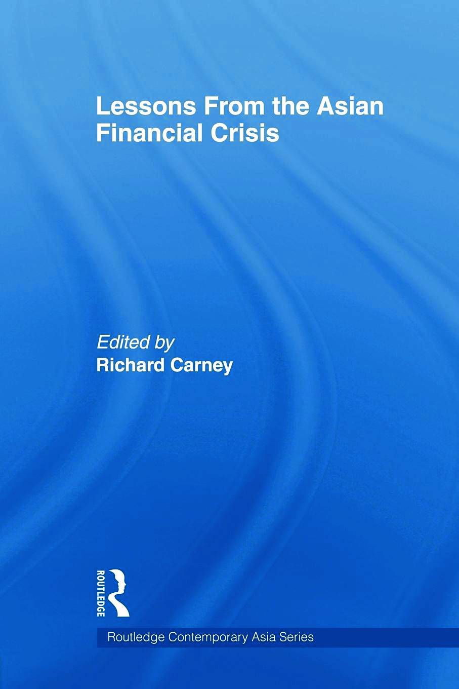 Lessons from the Asian Financial Crisis (Paperback) book cover