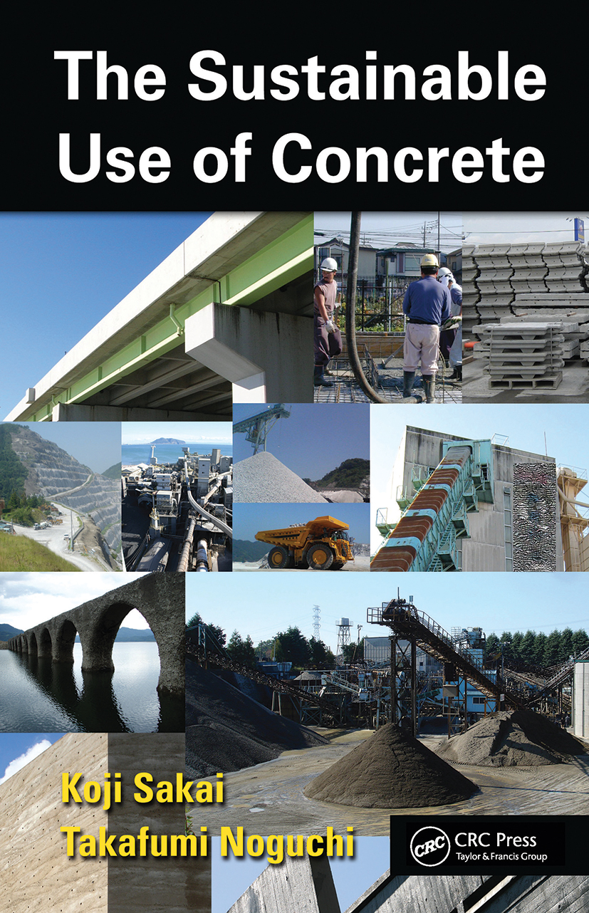 The Sustainable Use of Concrete (Hardback) book cover