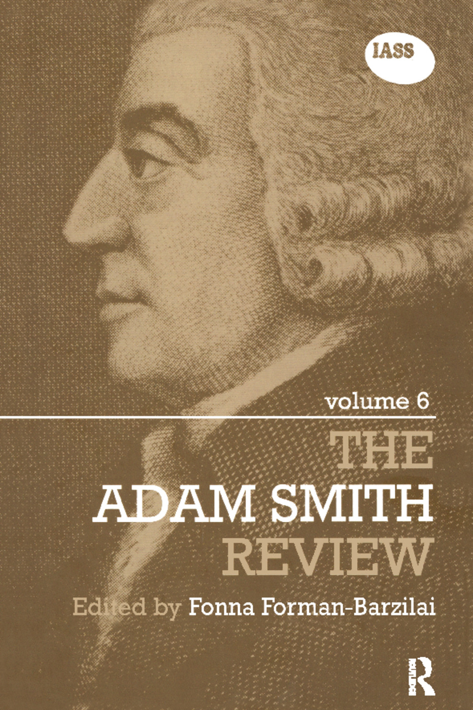 The Adam Smith Review Volume 6 (Hardback) book cover