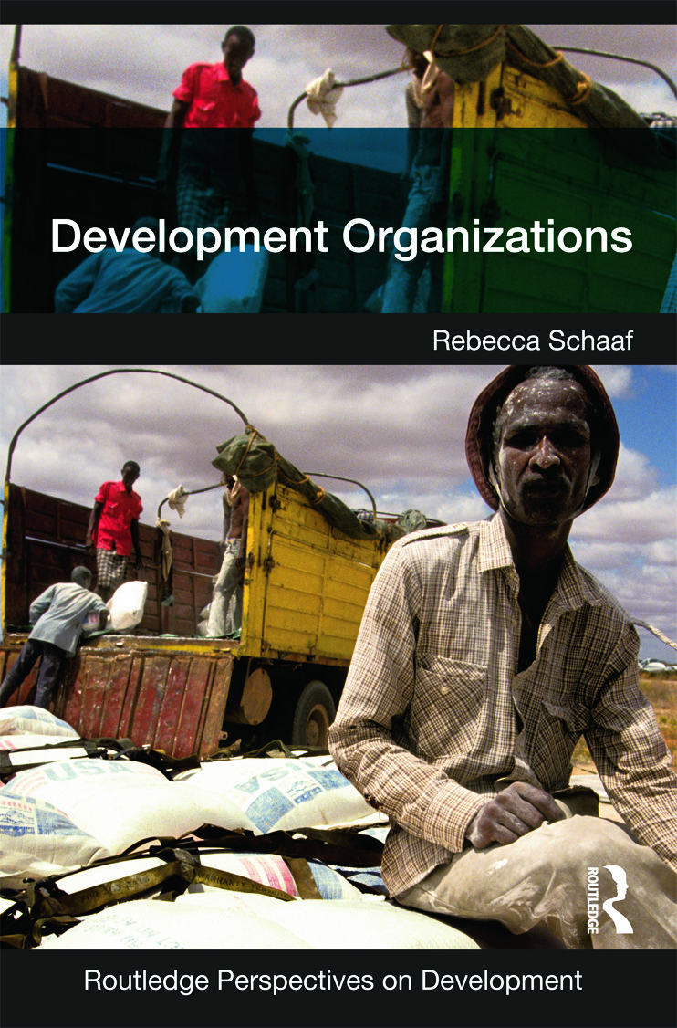 Development Organizations book cover