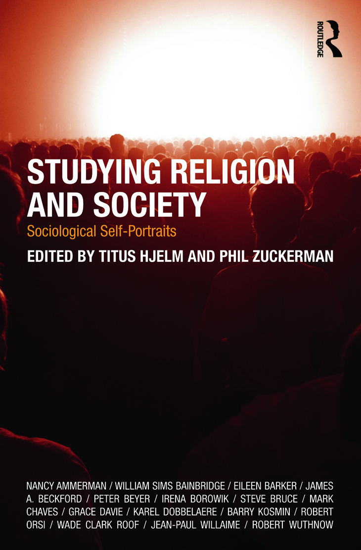 Studying Religion and Society: Sociological Self-Portraits (Paperback) book cover