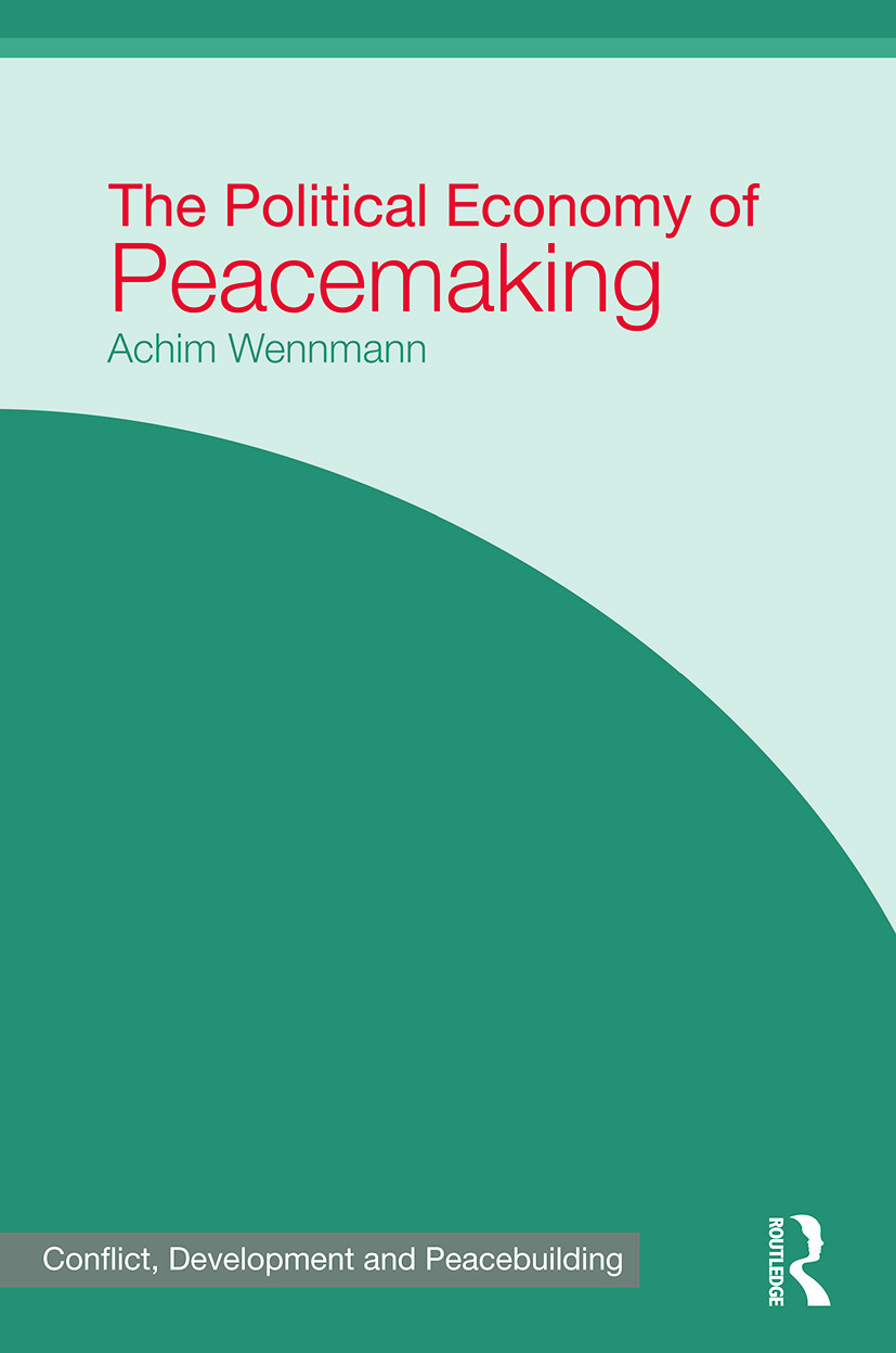The Political Economy of Peacemaking (Paperback) book cover