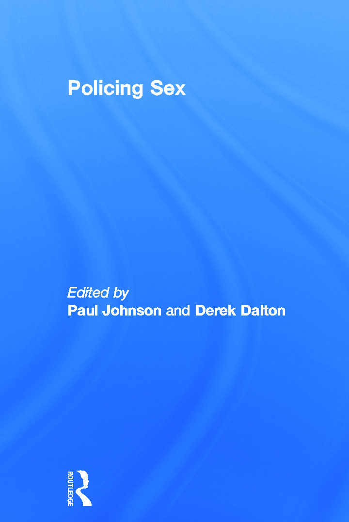 Policing Sex: 1st Edition (Hardback) book cover