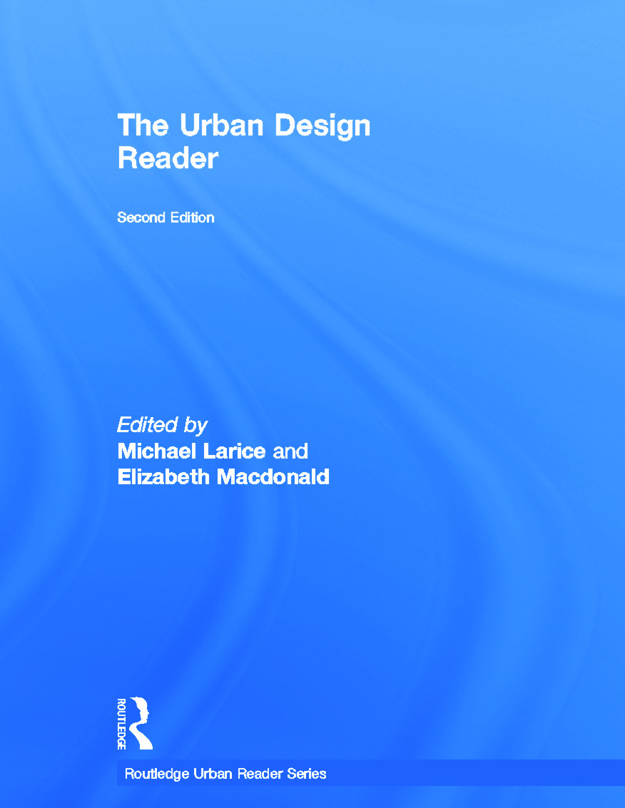 The Urban Design Reader: 2nd Edition (Hardback) book cover