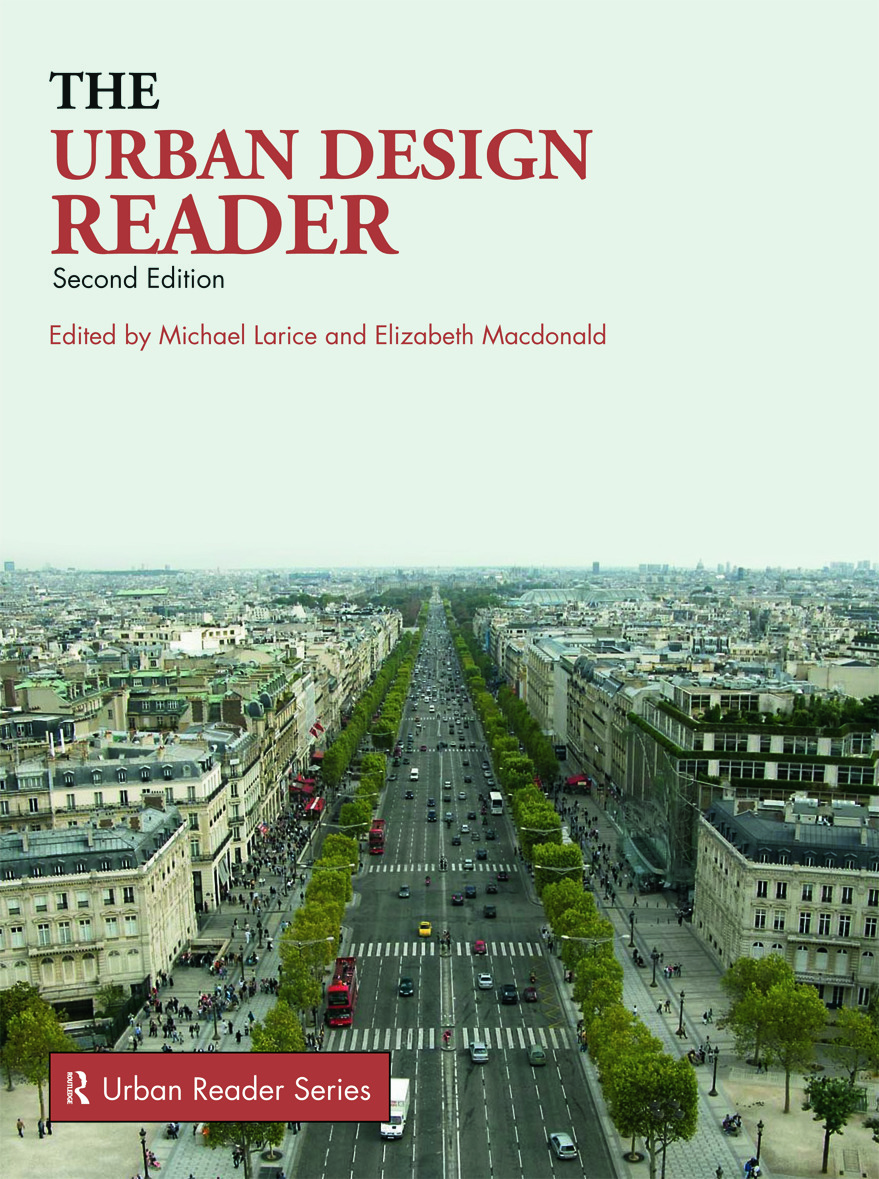 The Urban Design Reader book cover