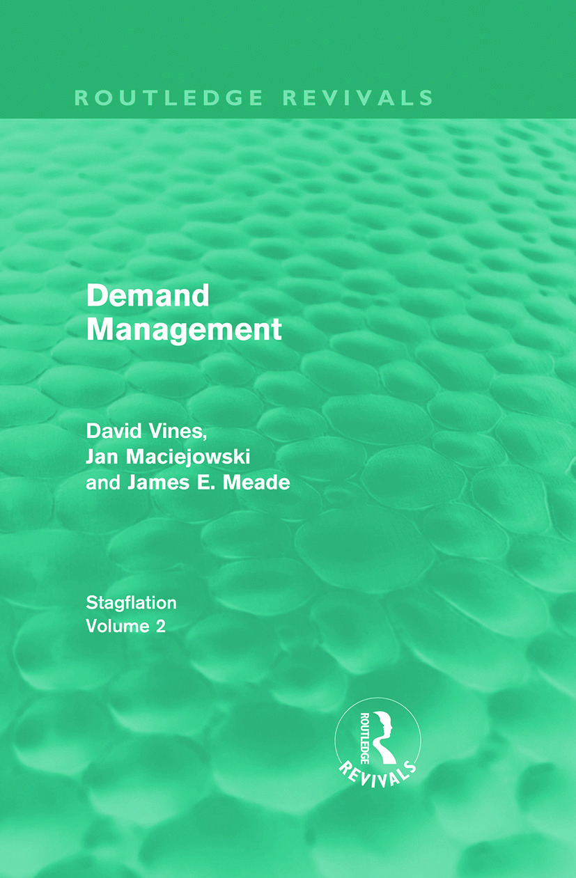 Demand Management (Routledge Revivals): Stagflation - Volume 2 (Hardback) book cover