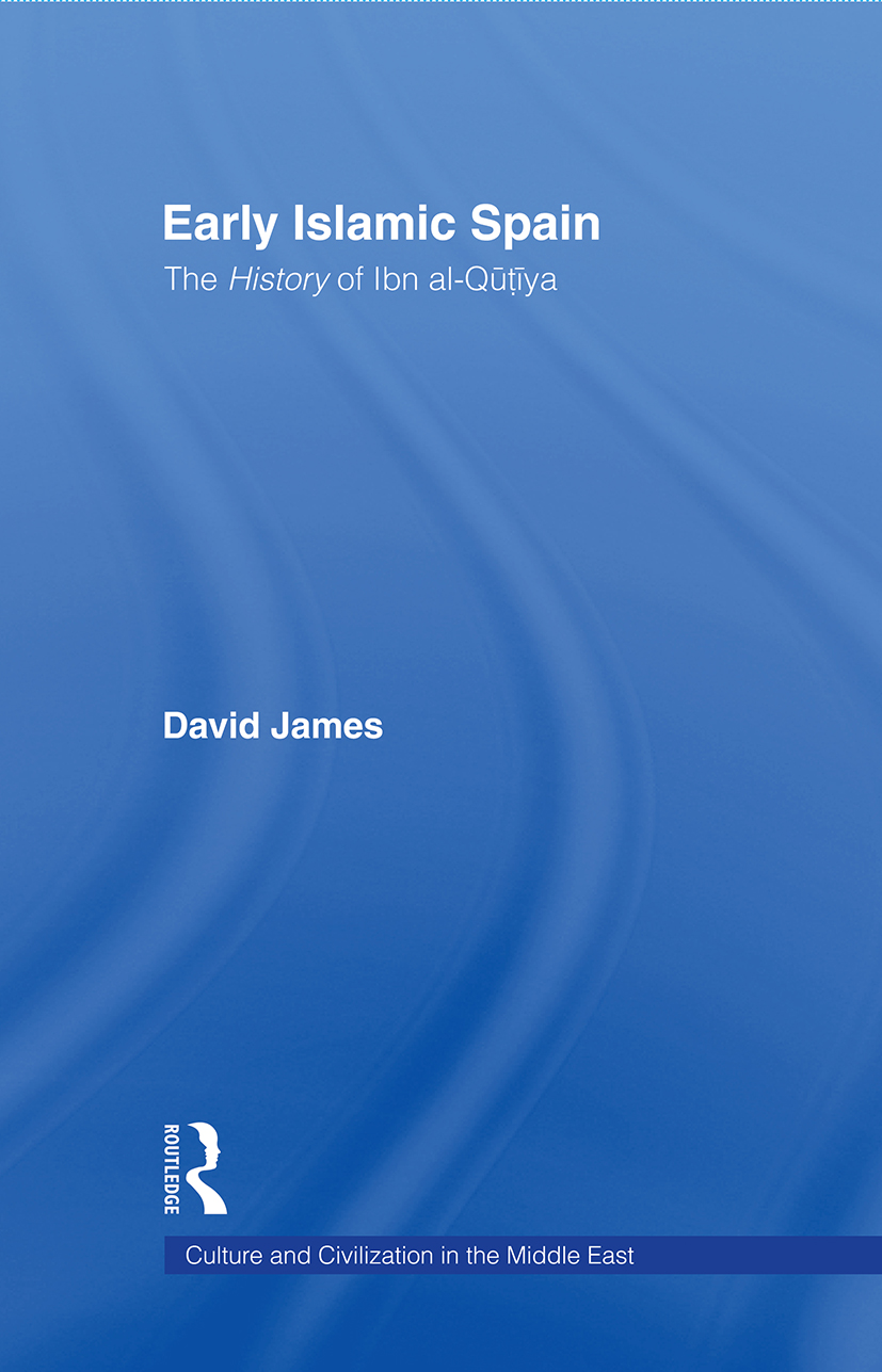 Early Islamic Spain: The History of Ibn al-Qutiyah book cover